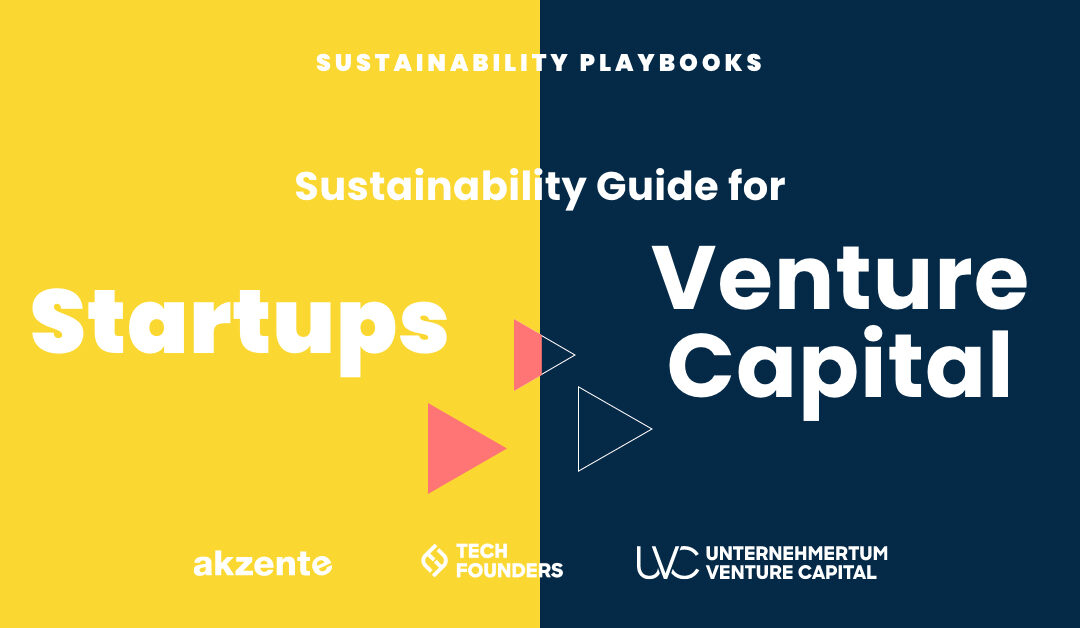 The Sustainability Playbooks for Startups and Venture Capitalists